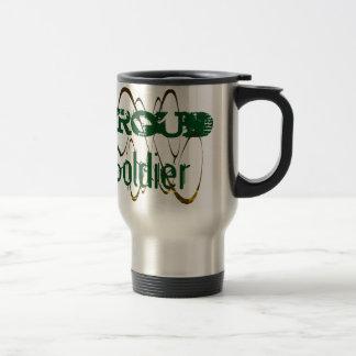 Proud Soldier Travel Mug