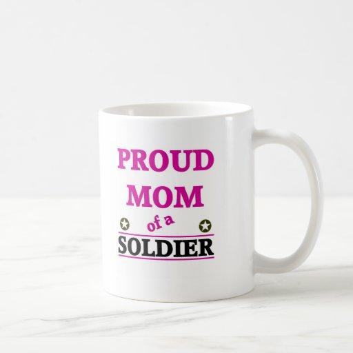 Proud Soldiers Mom Mugs