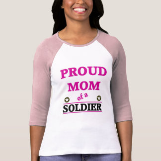 Proud Soldiers Mom T-shirts