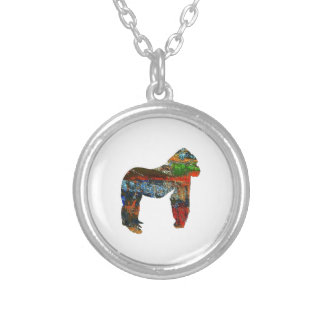 PROUD STANCE SILVER PLATED NECKLACE