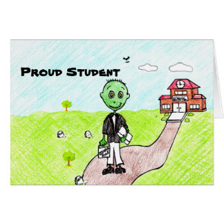 Proud Student Note Card