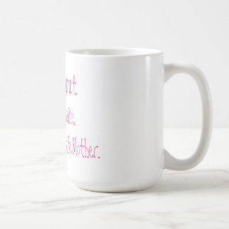 Proud Surrogate Mother Mug White Pink
