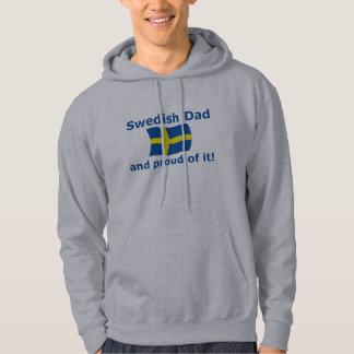 Proud Swedish Dad Hoodie