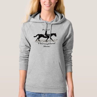 Proud Thoroughbred Mom Pullover Hoodie