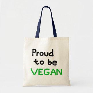 Proud to ask Vegan Tote Bag