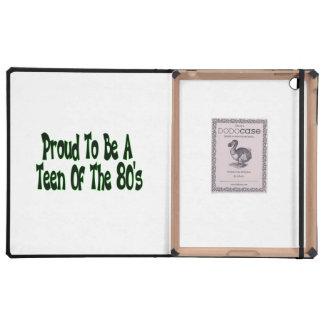 Proud To Be 80's Teen iPad Case