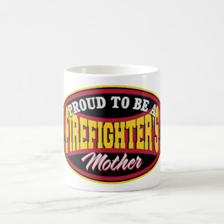 Proud to be a Firefighter's Mother Coffee Mug