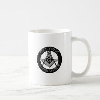 Proud To Be A Freemason Coffee Mug