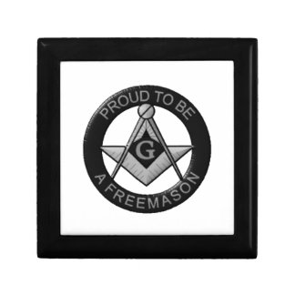 Proud To Be A Freemason Gift Box