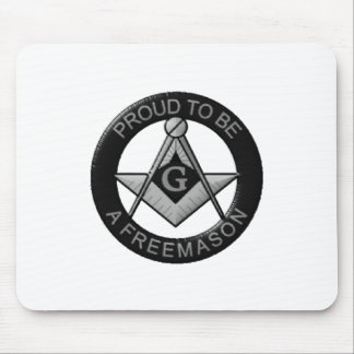 Proud To Be A Freemason Mouse Pad