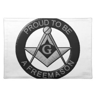 Proud To Be A Freemason Placemat