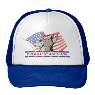 Proud To Be A Jackass Political Trucker Hat