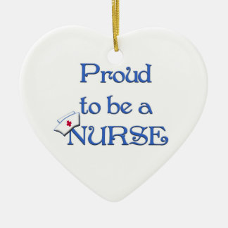 Proud to be a nurse-Pendant Ornament