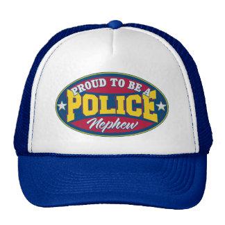 Proud to be a Police Nephew Trucker Hat
