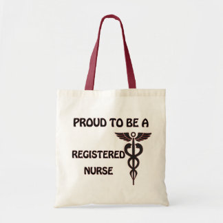Proud to be a Registered Nurse Tote Bag