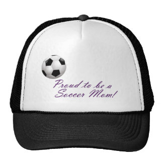 Proud to be a Soccer Mom Mesh Hats