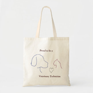 Proud to be a Veterinary Technician Tote Bag