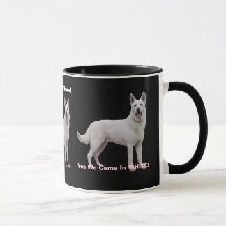 Proud To Be a White German Shepherd! Mug