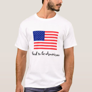 Proud to be American Flag T-shirt