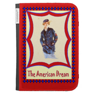 Proud to be American Kindle Keyboard Covers