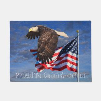PROUD TO BE AN AMERICAN DOORMAT