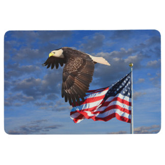 PROUD TO BE AN AMERICAN FLOOR MAT