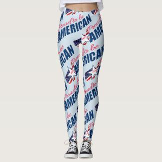 Proud to be an American Leggings