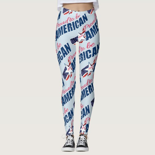 Proud to be an American Leggings