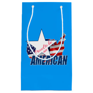 Proud to be an American Small Gift Bag