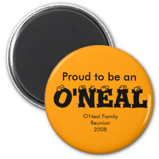 Proud to be an O'NEAL Magnet