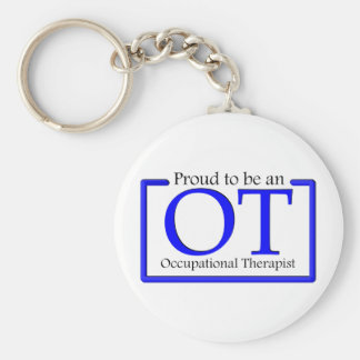 Proud to be an OT Basic Round Button Keychain
