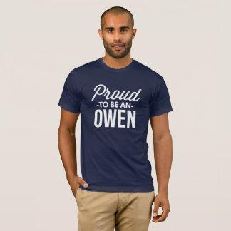 Proud to be an Owen T-Shirt