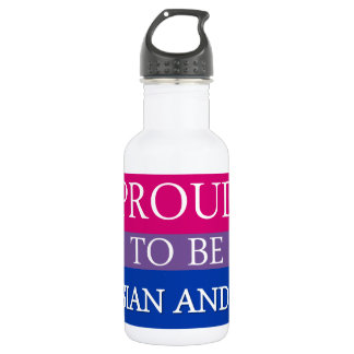 Proud To Be Asian and Bi 532 Ml Water Bottle
