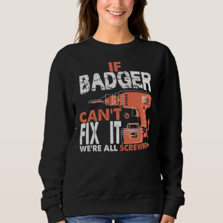 Proud To Be BADGER Tshirt