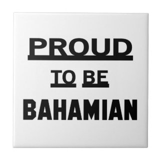 Proud to be Bahamian Tiles