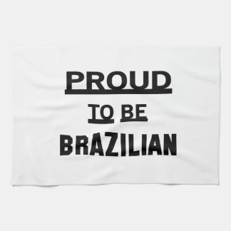 Proud to be Brazilian Towels