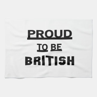 Proud to be British Towels