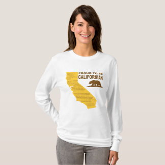 Proud to be Californian LongSleeve LT T-Shirt