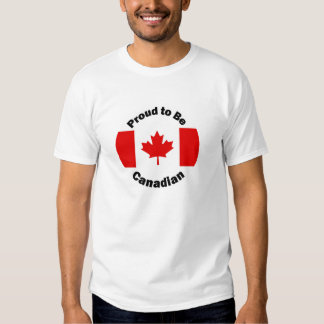 Proud to be Canadian Tee Shirt