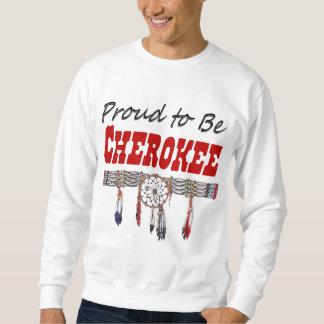 Proud to be Cherokee Adult Sweatshirt