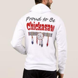 Proud to be Chickasaw Fleece Zip Hoodie