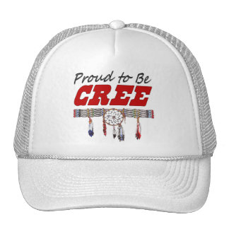 Proud To Be Cree Cap Trucker Hat