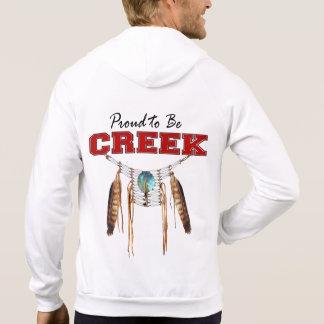 Proud to be Creek Fleece Zip Hoodie