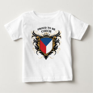 Proud to be Czech Baby T-Shirt