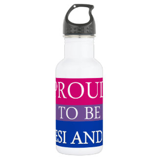 Proud to Be Desi and Bi 532 Ml Water Bottle