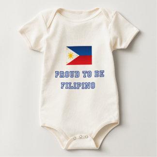 Proud to be Filipino 2 Baby Bodysuit