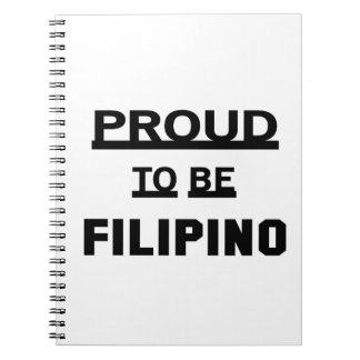 Proud to be Filipino Note Book