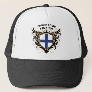 Proud to be Finnish Trucker Hat