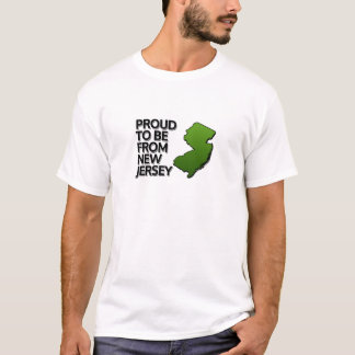 Proud to be from New Jersey T-Shirt