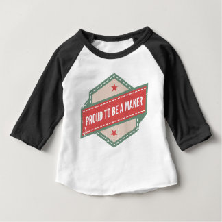 Proud to Be has Maker vintage logo Baby T-Shirt
